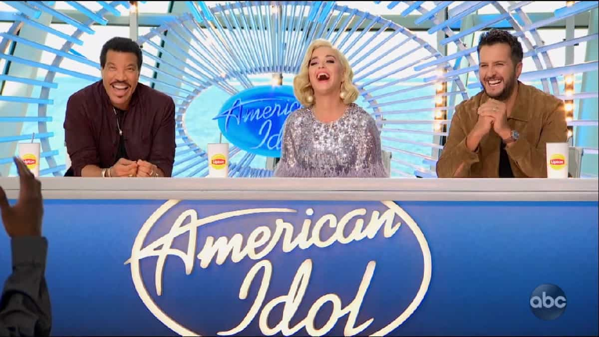 American Idol Judges laugh during Auditions 2020