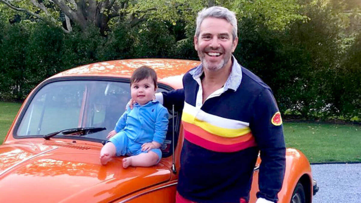 Andy Cohen talks being quarantined from son Ben amid coronavirus.