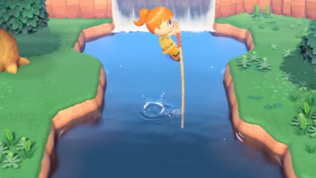 Scene from Animal Crossing: New Horizons