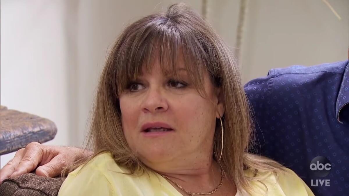 Peter Weber's mom Barbara on The Bachelor