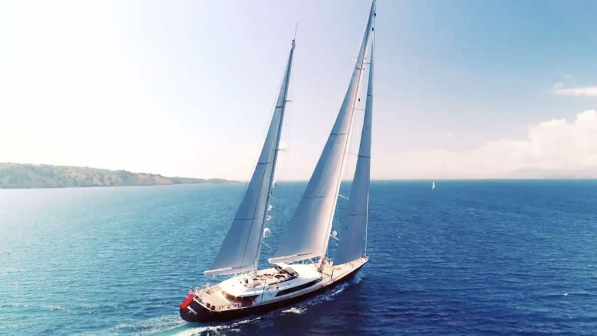 Below DeckSailing Yacht where is it filmed?