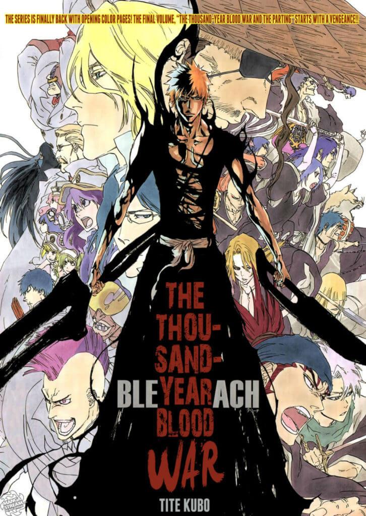 Bleach Thousand Year Blood War Manga Art