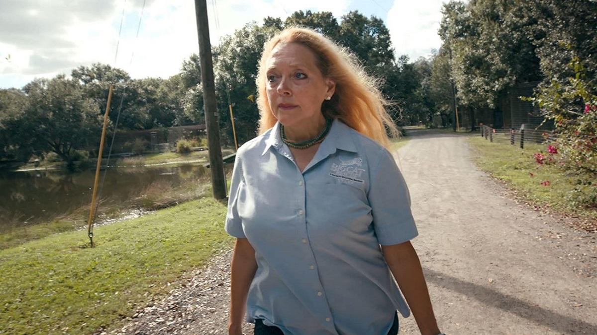 Big Cat Rescue owner Carole Baskin