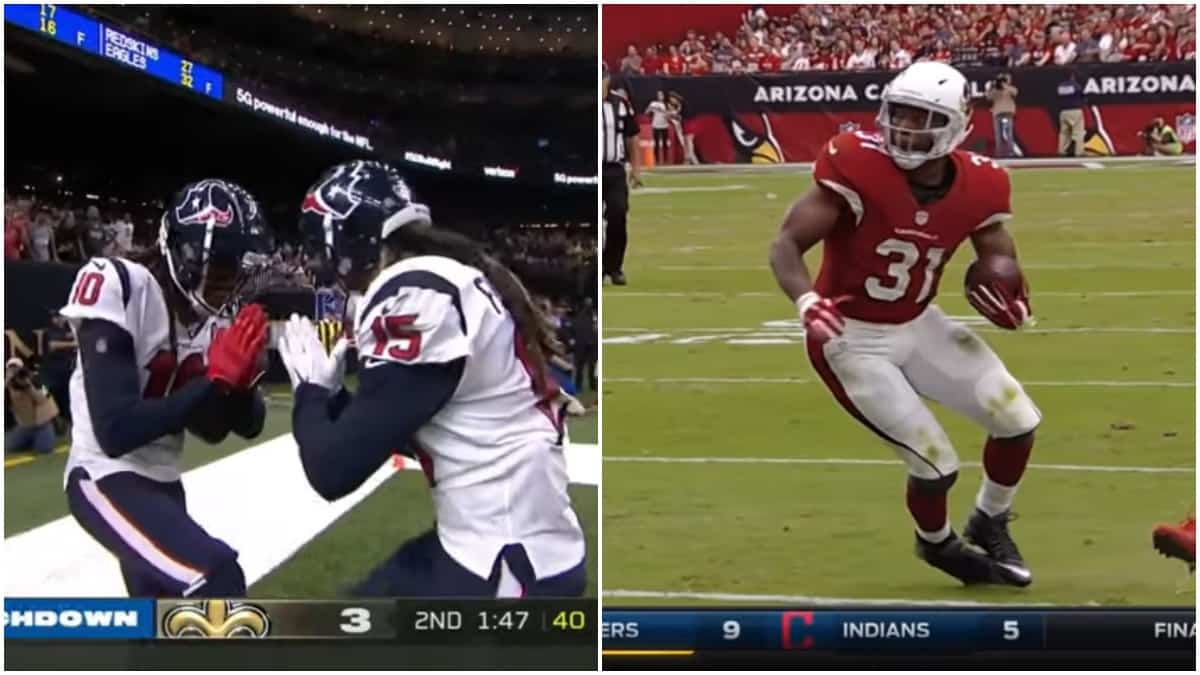 NFL trade shocker as Houston Texans trade DeAndre Hopkins for David Johnson
