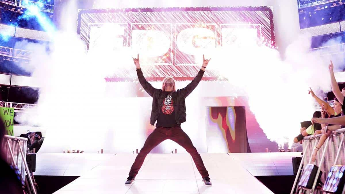 WWE reveals when Edge is returning to Monday Night Raw