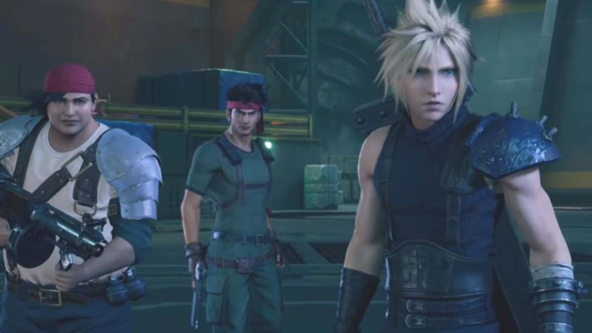 Footage from FF7 Remake