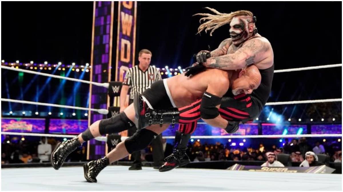 Goldberg vs. Bray Wyatt at WWE Super Showdown