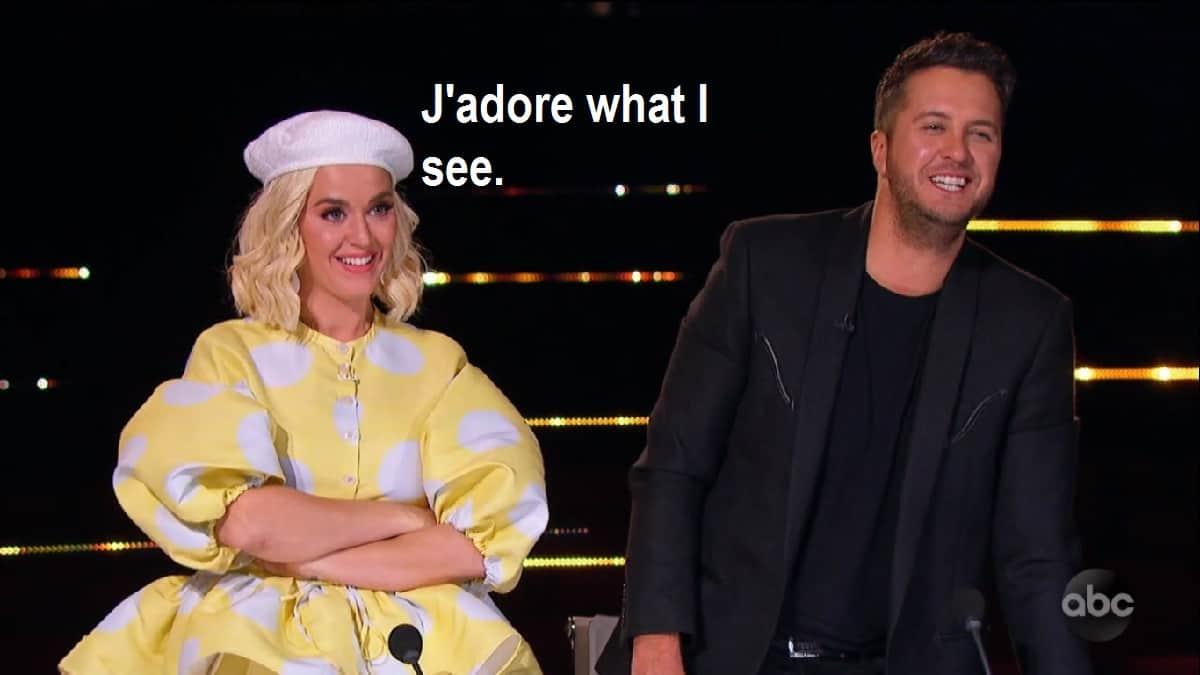 Katy Perry and Luke Bryan judge Idol contestants Hollywood Week