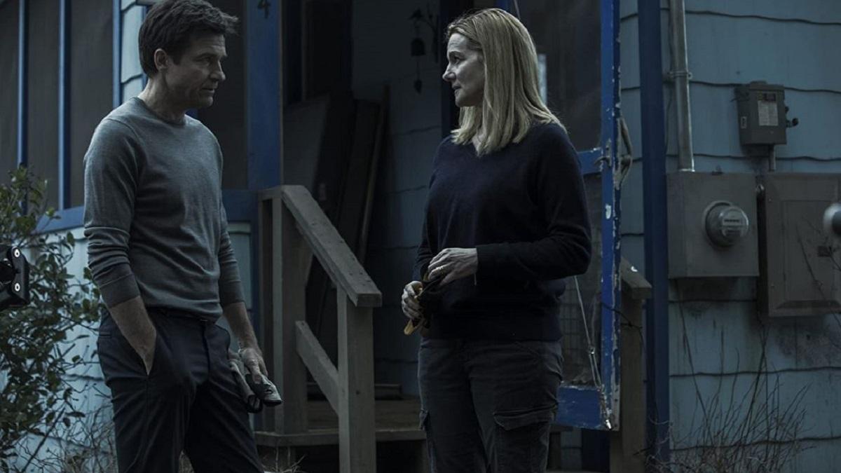 Jason Bateman and Laura Linney in Ozarks