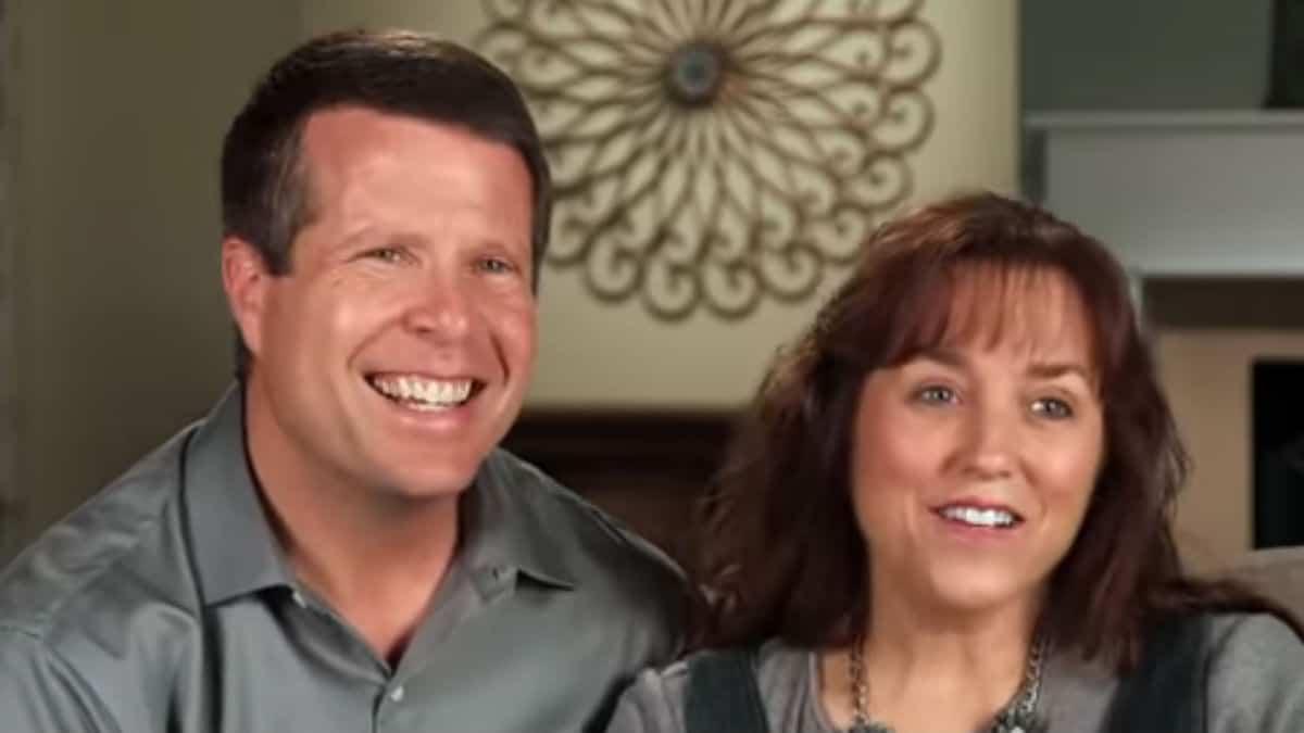Jim Bob and Michelle Duggar in a TLC confessional