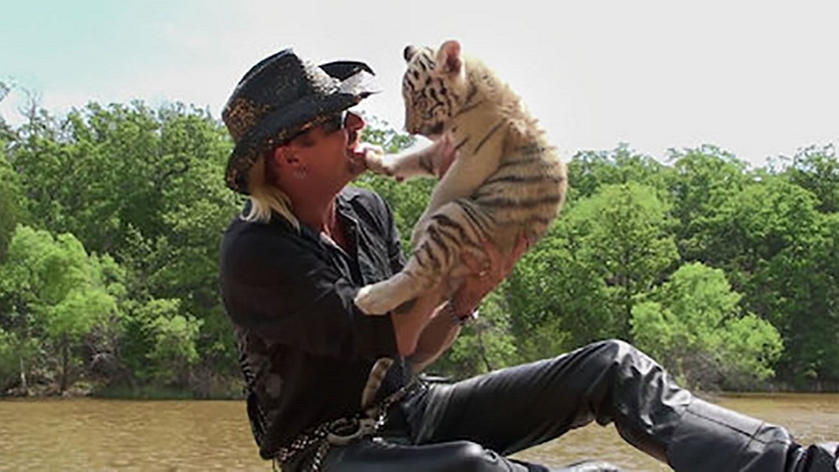 Joe Exotic in Netflix's Tiger King