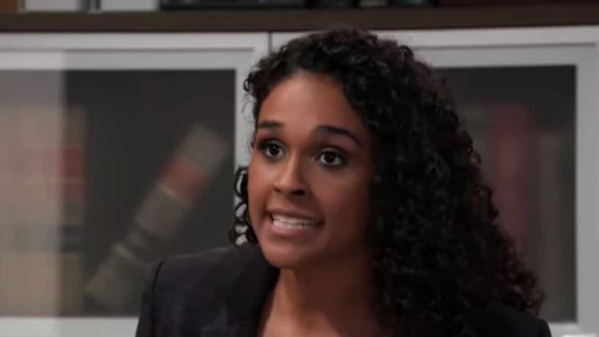 Briana Nicole Henry as Jordan on General Hospital.