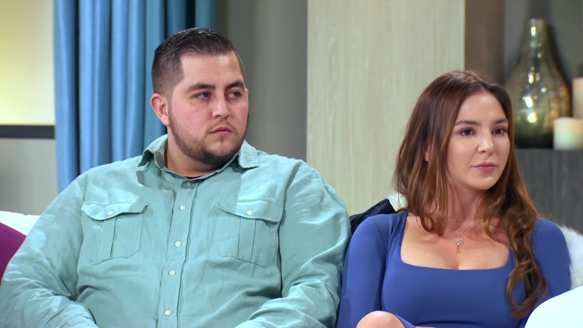 Anfisa and Jorge Nava at the 90 Day Fiance Tell All