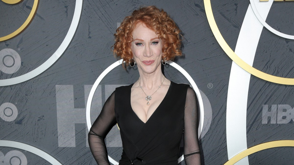 Kathy Griffin Calls Out Trump From ER