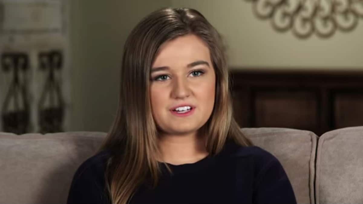 Kendra Caldwell during a Counting On confessional.