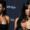 Kourtney and Kim Kardashian fight on Keeping Up With The Kardashians season 18 debut.