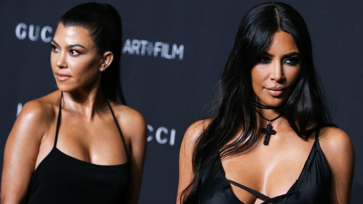 Kourtney and Kim Kardashian fight on Keeping Up With The Kardashians season 18 debut.