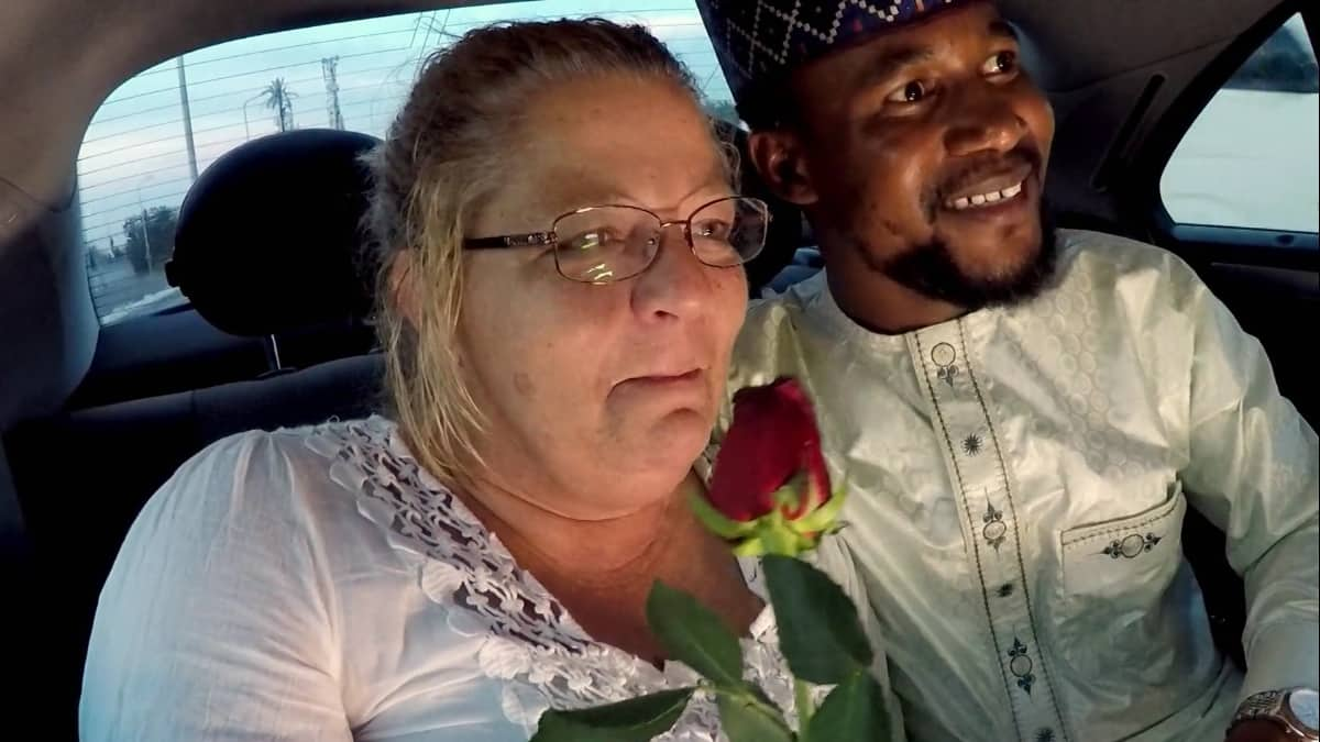 Lisa and Usman in Nigeria