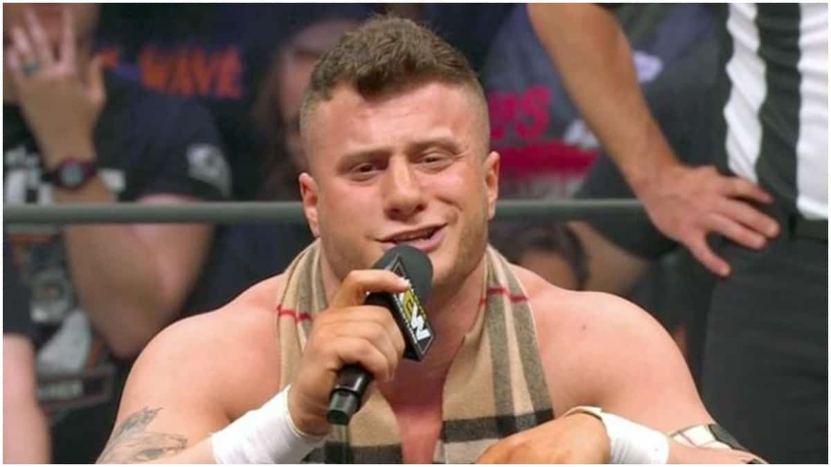 AEW superstar takes photos with 7-year-old fan, flips him the bird
