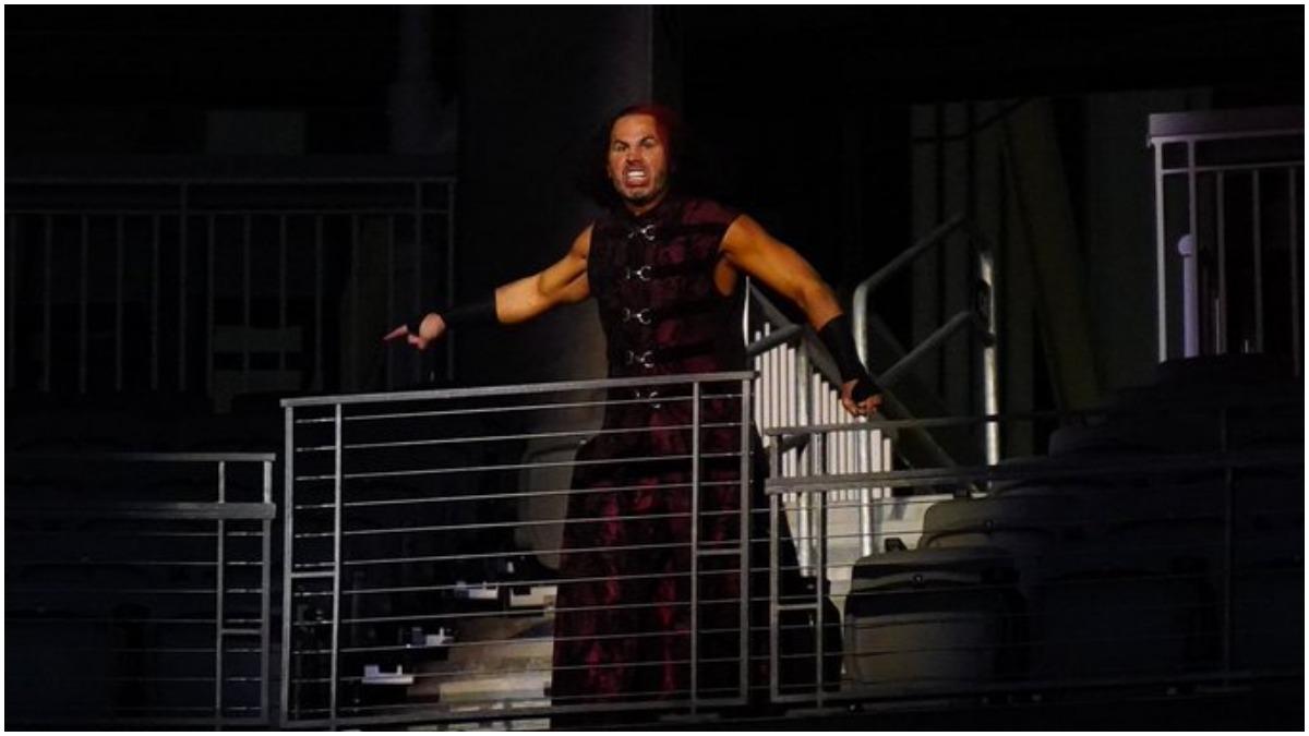 Broken Matt Hardy faces off with Chris Jericho on AEW Dynamite