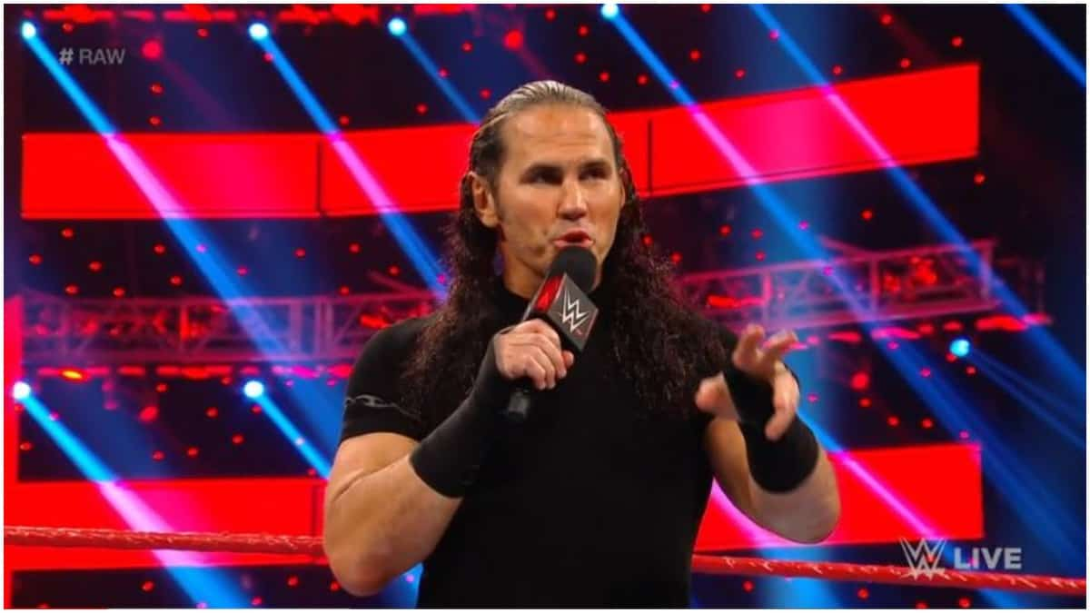Matt Hardy announces that his WWE contract is expired and he is a free agent