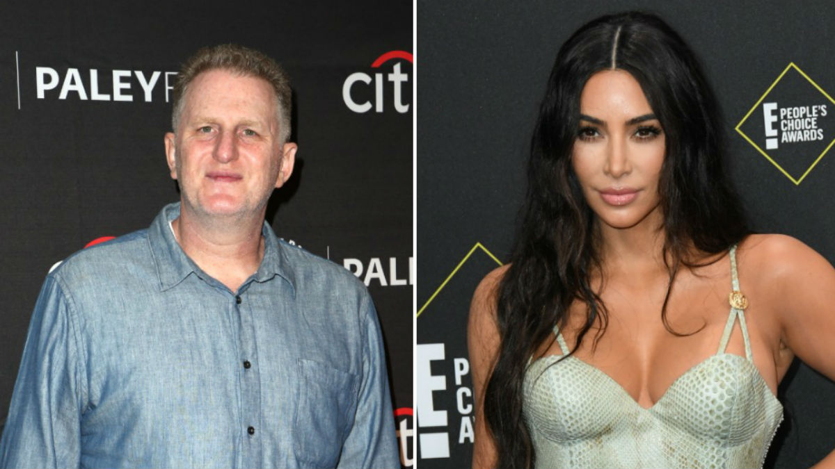 Michael Rapaport is taking aim at Kim Kardashian in a angry social media rant.