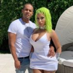 Nicki Minaj and husband Kenneth Petty pose on Instagram