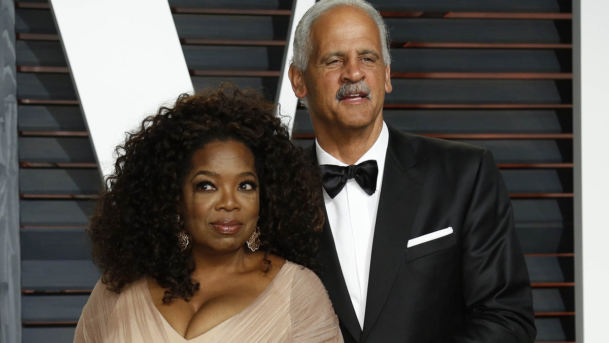 Oprah Winfrey and longtime partner Stedman Graham
