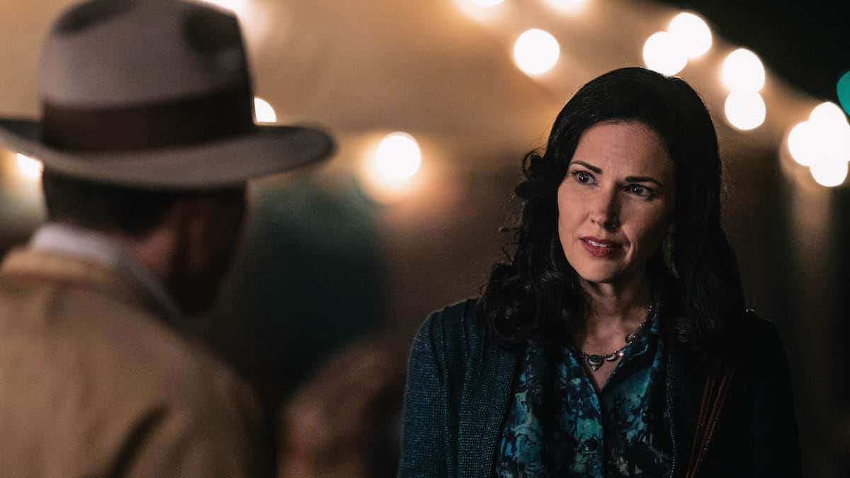 Laura Mennell as Mimi Hynek in Project Blue Book