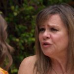 Peter's mom Barb talks during the season finale of The Bachelor