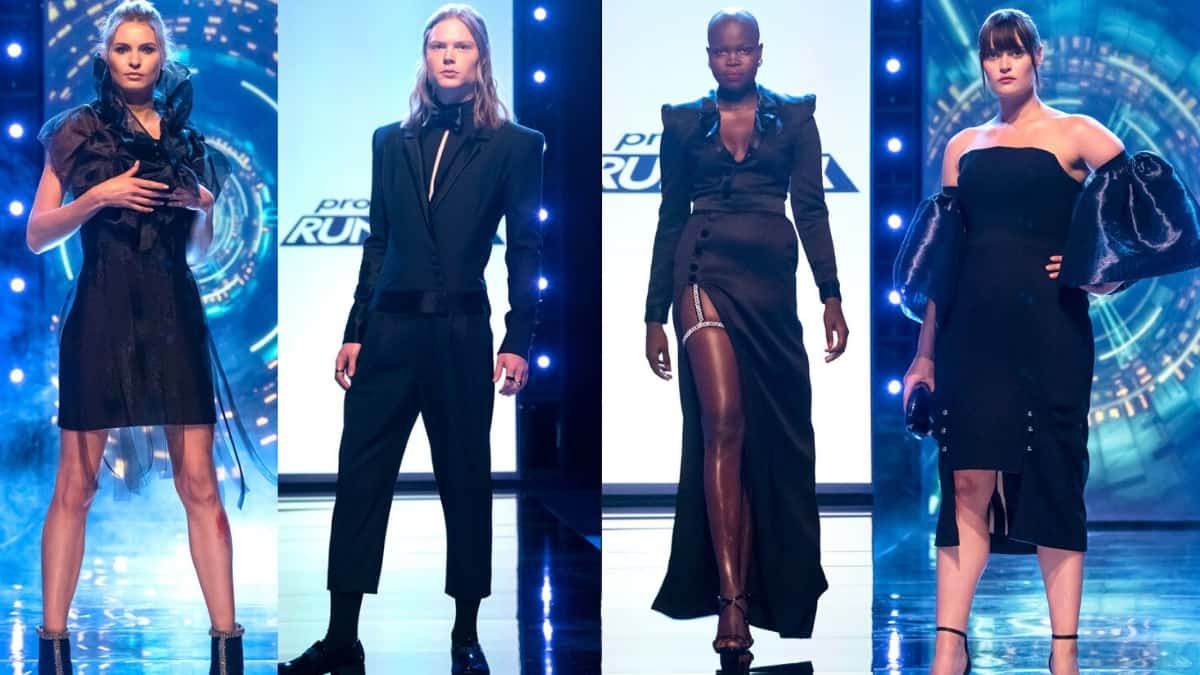 Project Runway Season 18 Black Dresses