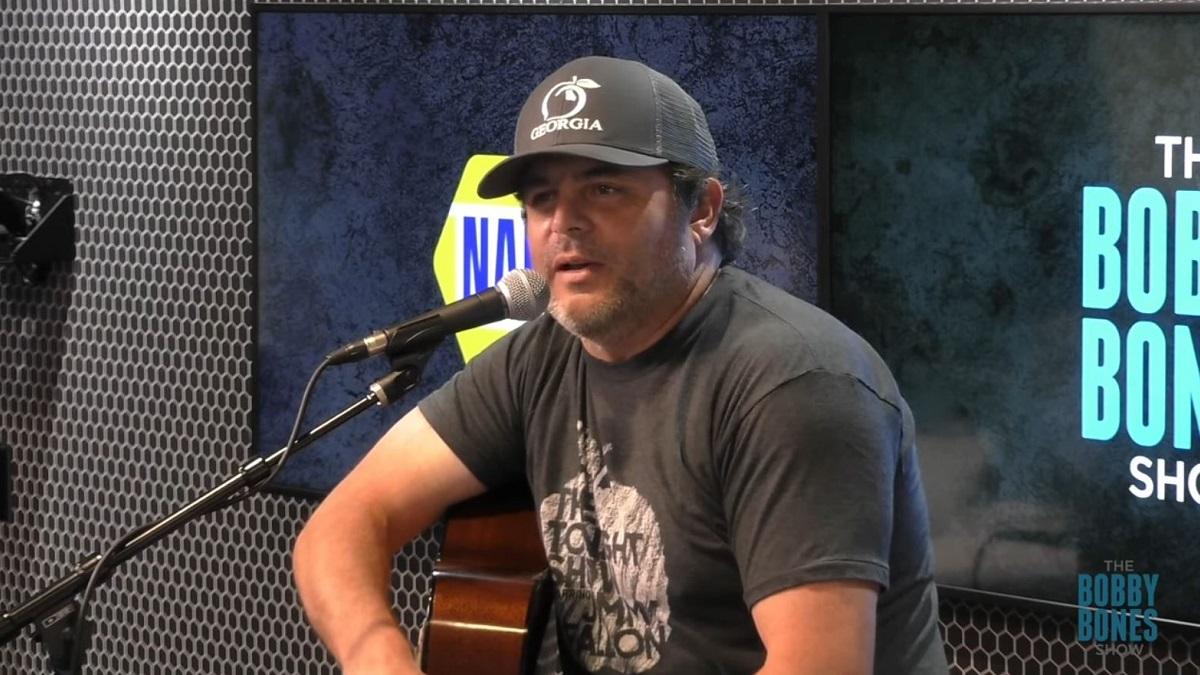 Country singer Rhett Akins