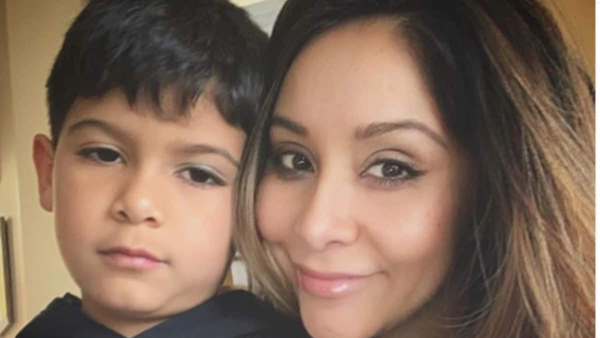 Nicole and son Lorenzo