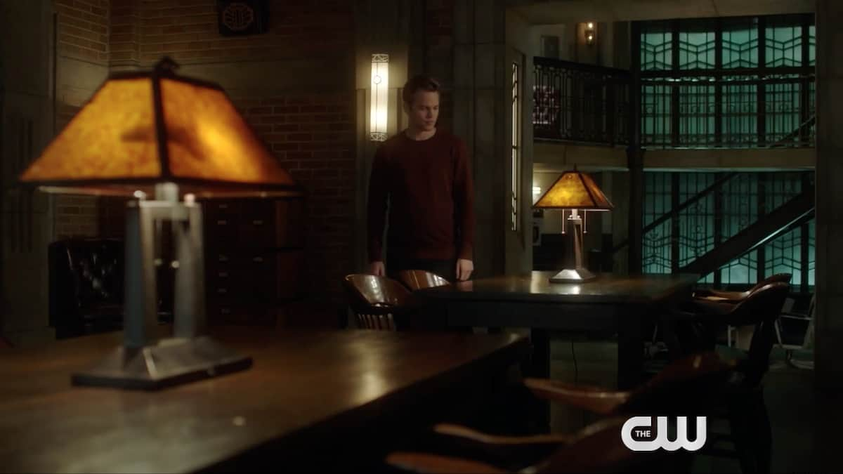Jack (Alexander Calvert) returns to the Winchester's bunker on Supernatural. Pic credit: The CW