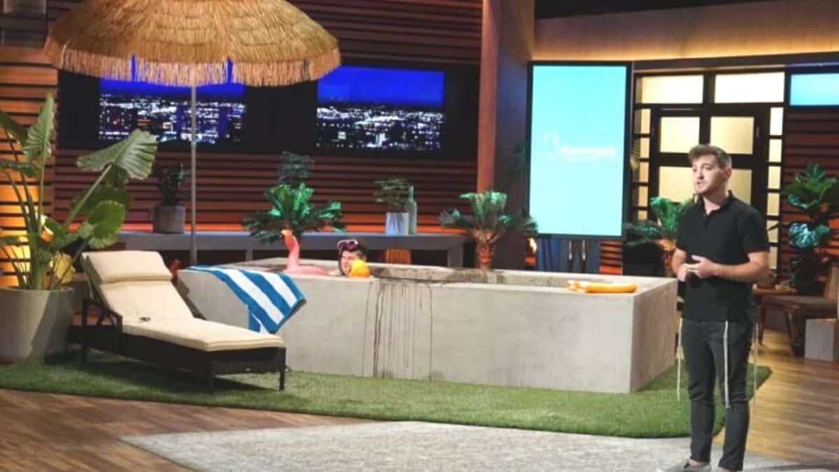 Swimply will be presented on Shark Tank tonight