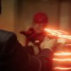 The Flash (Grant Gustin) struggles to keep is speed powers on The Flash. Pic credit: The CW