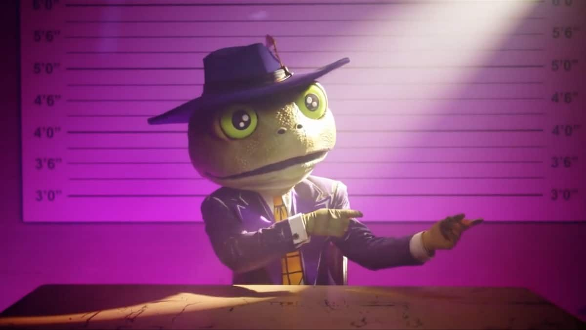 The Frog evades detection for another week on The Masked Singer. Pic credit: FOX
