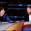 Ken Jeong and Joel McHale as co-panelists on The Masked Singer. Pic credit: FOX