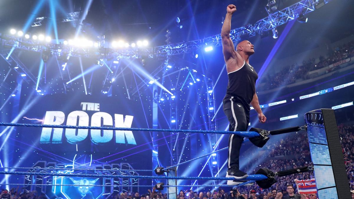 The Rock Dwayne Johnson is keeping fans entertained with WWE and movie stories