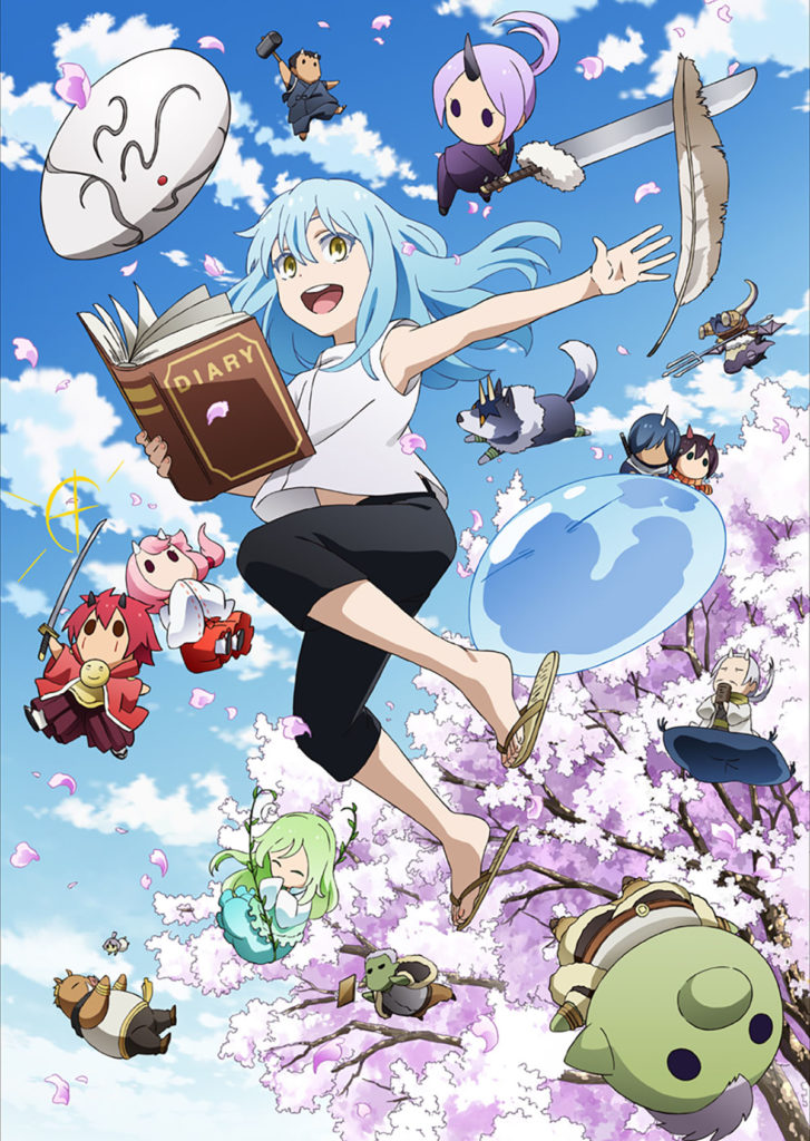 The Slime Diaries Anime That Time I Got Reincarnated As A Slime Key Visual