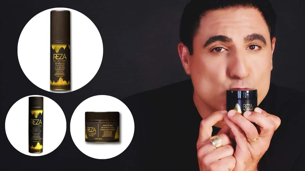 Reza Farahan S Be Obsessed Everything To Know About The Shahs Of Sunset Star S Haircare Line
