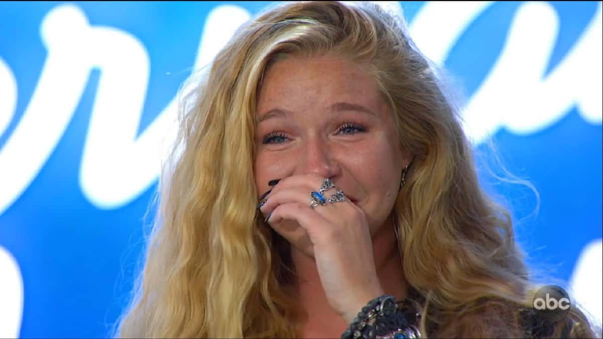 Shannon Gibbons cries and auditions for American Idol