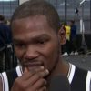kevin durant during nets media day