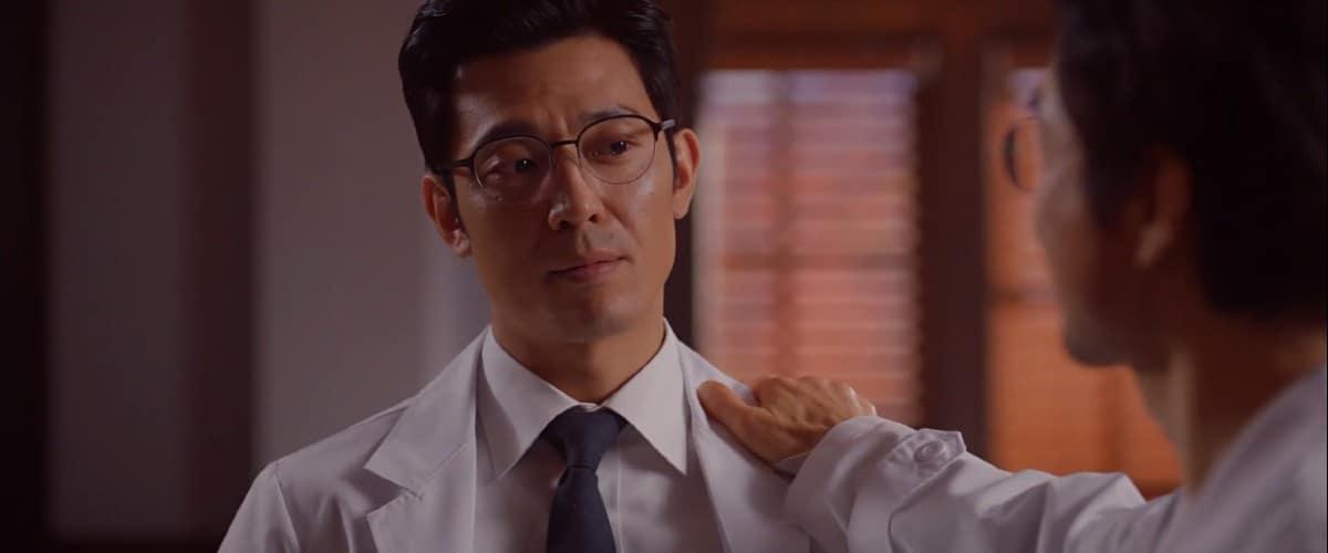 Teacher Kim and Director Park