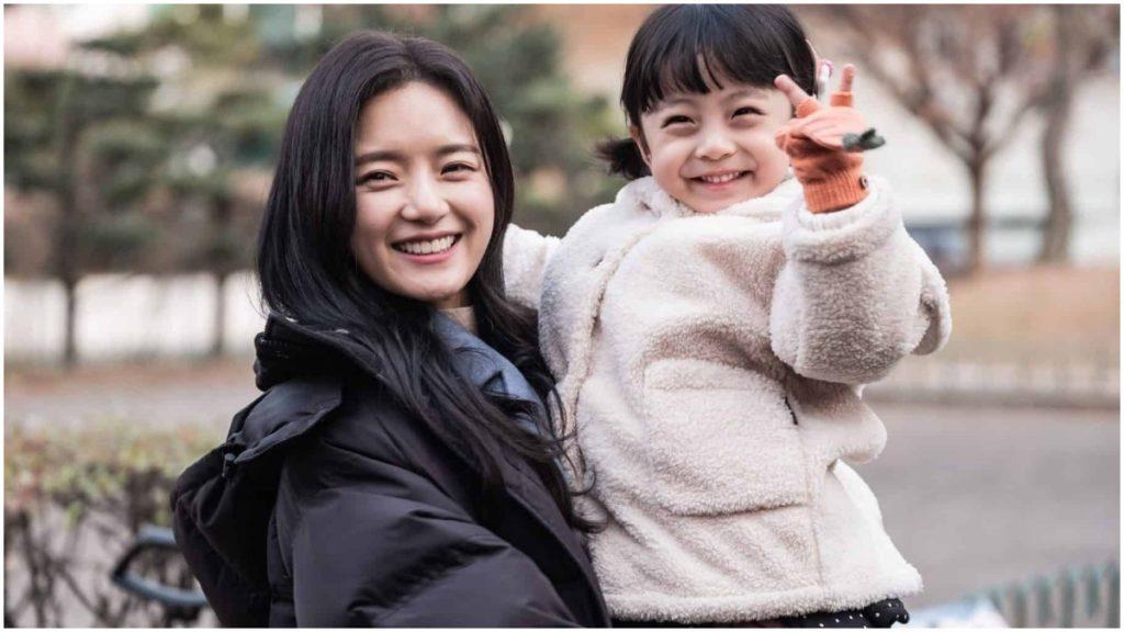 Go Bo-Gyeol and Seo Woo-Jin in BTS candid of Hi, Bye Mama!