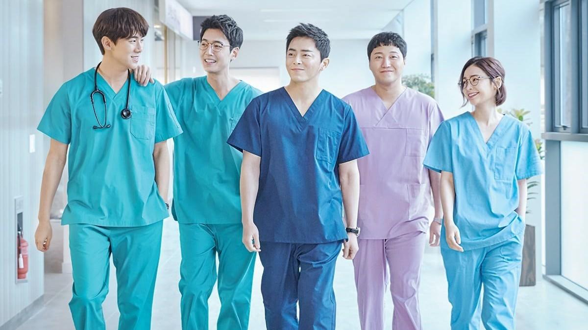 Main cast of Hospital Playlist