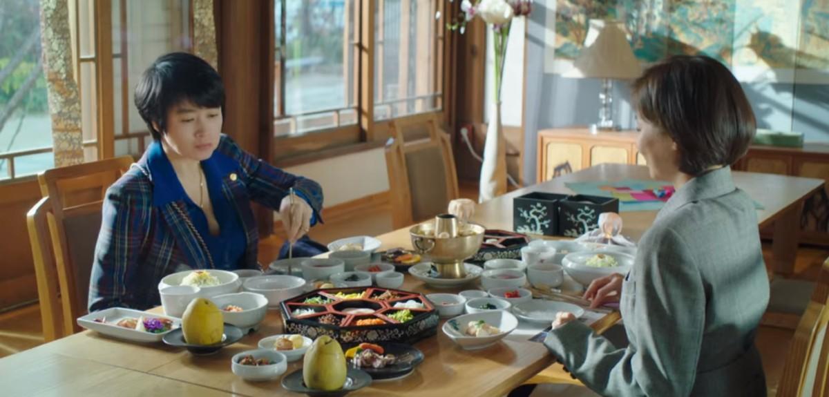 Kim Min-Joo and Jung Geum-Ja meeting
