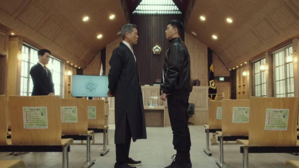 Jang Dae-Hee (Yoo Jae-Myung) and Park Sae-Royi (Park Seo-Joon) go face-to-face