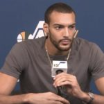 rudy gobert of the utah jazz