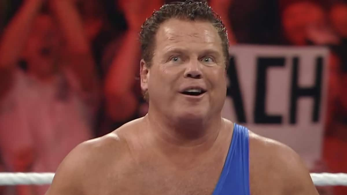 jerry the king lawler on wwe raw